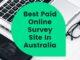 Best Paid Online Survey Site In Australia