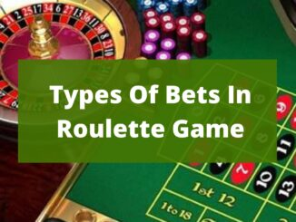 Types Of Bets In Roulette Game