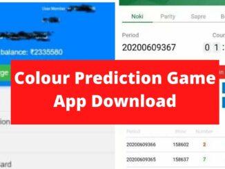 Colour Prediction Game App Download